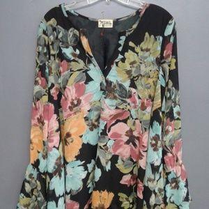 SHOW ME YOUR MUMU Jaime Floral Tunic Dress {S32}